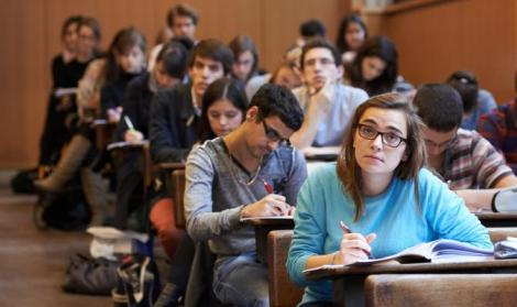 Students in ScPo Paris
